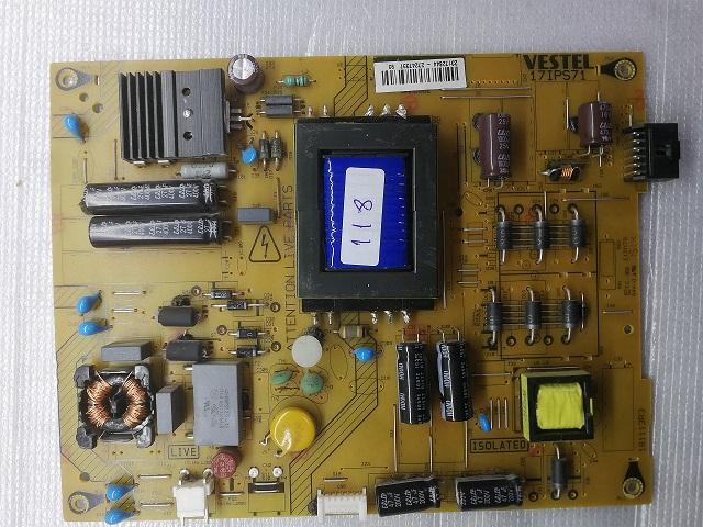 17IPS71 23172644 -27247337 VESTEL POWER BOARD VESTEL BESLEME